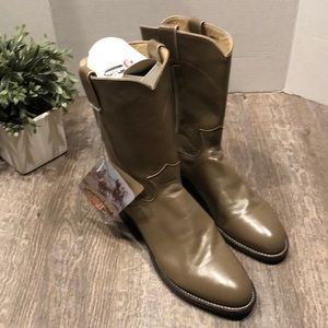 NWT Justin Roper Boots size 9E style 3033